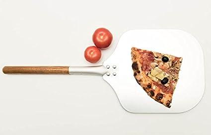 Aluminio Pala para pizza pizza Pala Paleta para pizza para horno para pizza Pan manillar aluminio