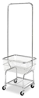 Whitmor 6894-3499-BB Commercial Round Laundry Hamper