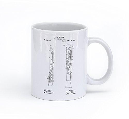 Oboe Conductor - Oboe Musical Instrument Patent Mug
