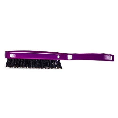Torino Pro Wave Brush #930 By Brush King - 7 Row Hard 360 Waves Brush -  Great for Wolfing