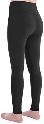 ランニングパンツ腹部ヨガパンツハイウエストのフィットネスレギンススポーツ (Color : A, Size : XXL)