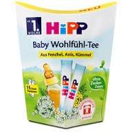 Hipp Comfort Baby Tea- 100 % Exract of Fennel Anise Caraway - 15 Doses
