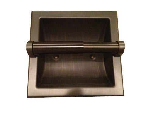 Fancy Oil Rubbed Bronze Recessed Toilet Paper Holder Vintage Design