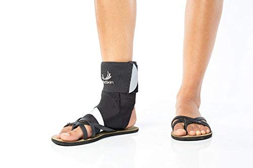 BioSkin Trilok Ankle Brace - Foot and Ankle Support for Ankle Sprains, Plantar Fasciitis, PTTD, Tendonitis and Active Ankle Stability - Lightweight, Hypo-Allergenic (XSmall) by BIOSKIN (Image #7)