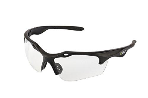 EGO Power+ GS001 Anti-Scratch Safety Glasses with 99.99-Percent UV Protection and ANSI Z87.1 Standards, Clear Lens