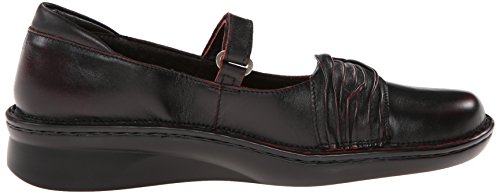 Jane Volcanic Tone Leather Flat Naot Mary Women's Red q1Hwaat