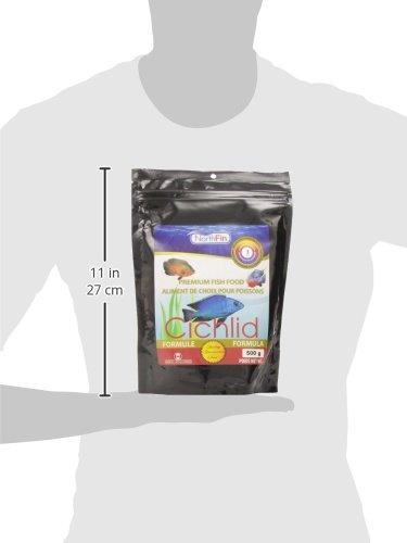 Northfin Fish Food, 3 mm Sinking Pellets, 500 g, Cichlid Formula by Northfin (Image #5)
