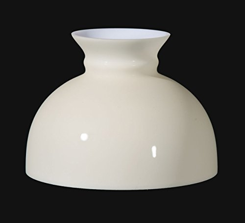 B&P Lamp 10'' Opal Glass Student Shade, Cream Tint by B&P Lamp