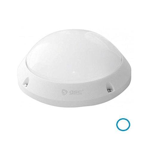 ELECTROTER - Gsc Plafón Led - Aplique Led 7W Redondo Para Exterior Ip65 Luz Blanca 6000K: Amazon.es: Iluminación