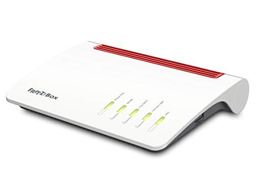 AVM FRITZ!Box 7590 International – Modem Router 4×4 WiFi AC con MU-MIMO (1733 Mbps en 5 GHz y 800 Mbps en 2,4 GHz), Mesh…