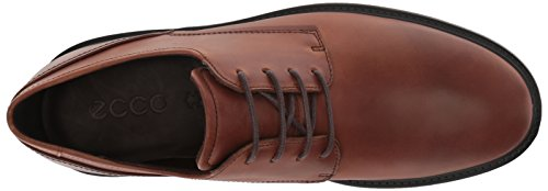 Ecco Hombres Knoxville Tie Oxford Cognac Plain Toe