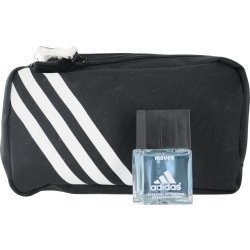 ADIDAS MOVES by Adidas Gift Set for MEN: EDT SPRAY .5 OZ & TOILETRY BAG