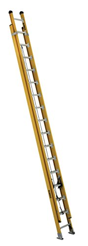 DeWalt DXL3420-32PG 32-Foot Fiberglass Extension Ladder Type IAA with 375-Pound Duty Rating