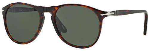 Persol Men's Caffe Classic Sunglasses, Caffe/Green Polar, One ()