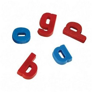 pacon pac 27510 magnetic lower case alphabet letters 15 plastic blue red