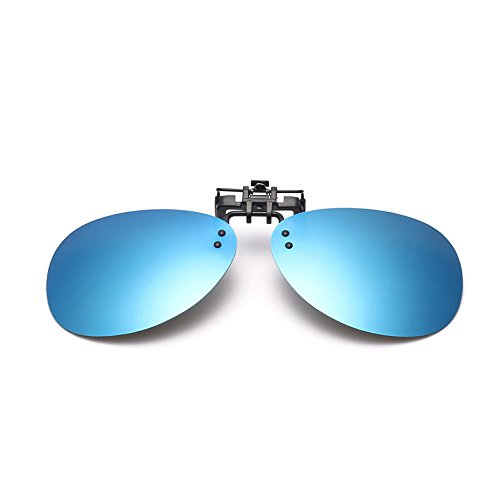 Sunglasses & Sports Glasses - Bikight Mirror Pilot Polarized Clip Sun Glassess Night Vision Lens Polaroid Sun Glassess - Fly Eyeglasses Experimental Spectacles Model Specs Trial - - Models Spectacles