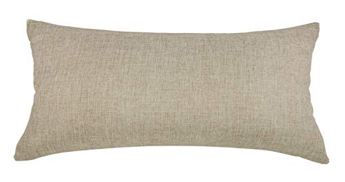 Aiking Home Woven Fine Faux Linen Throw Pillow Cover, Size 12