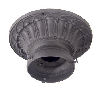 B&P Lamp Cast Iron Ceiling Porch Fixture ()