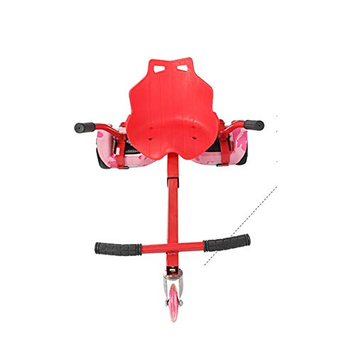 Lvbeis Hoverkart Asiento para Hoverboard Silla Kart Patinete EléCtrico Compatible Go Kart All Size Self Balancing...