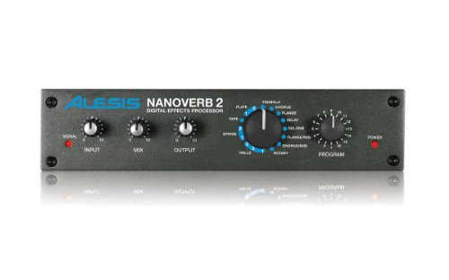 Alesis Nanoverb 2 | Digital Effects Processor with 16 Program Settings for (Delay Processor)