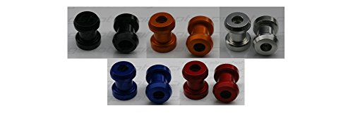 New Kawasaki Ninja 300 / 300 ABS Billet Aluminum Swingarm Spools Spool Bobbins Billet Aluminum Swing Arm