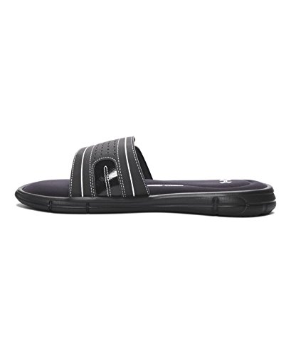 official photos 3e4e0 765ec Under Armour Women s Ignite VIII Slide Sandal, Black (001) White, 9