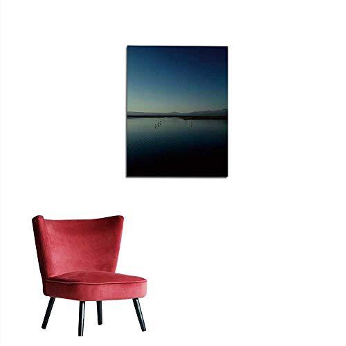 (longbuyer Photo Wall Paper Flamingo Salar de Tara Atacama Desert Valley Chile Mural 24