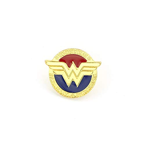 maiconfrog 2018 HOT Movie Super Hero Brooch Woman Round Brooch Birthday Gift Garment Accessories Enamel pin -