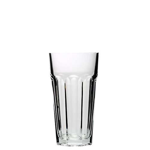 Pasabahce ARA270Z, 12 1/2 oz Long Drink Glass, Highball Iced Beverage Water Juice Glasses, Cocktail Glass, Set of 6 by Pasabahce