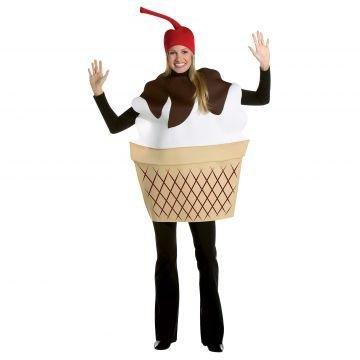 Rasta Imposta Ice Cream Sundae, Multi, One Size