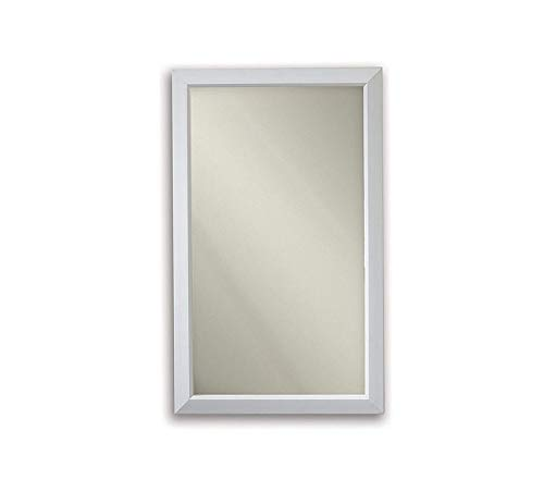 Home Décor Premium Gloss White Frame Medicine Cabinet 15.75