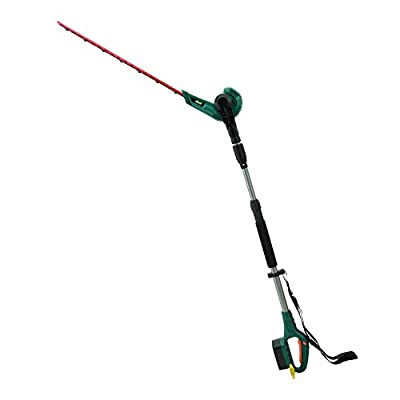 EAST Cordless Battery Powered Pole Hedge Trimmer?Battery & Charge Included