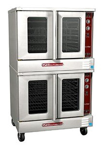 Southbend SLGB/22CCH SilverStar Double Deck Bakery Depth Gas Cook & Hold Convection Oven