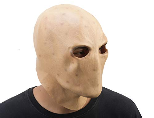 PARTY STORY Slender Man Ghost Adult Scary Mask Halloween Cosplay Costume Full Face Mask ()