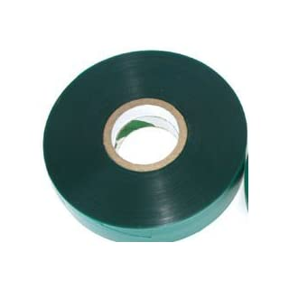 "300 FEET x 1/2"" 4mil Thick Stretch Tie Tape Plant Garden Green Vinyl Stake"