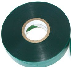 300 FEET x 1/2'' 4mil Thick Stretch Tie Tape Plant Garden Green Vinyl Stake