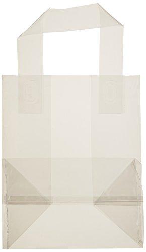 Elkay Plastics TO6484 Co-Extruded Polypropylene Soft Loop Handle Bag, 6 3/4