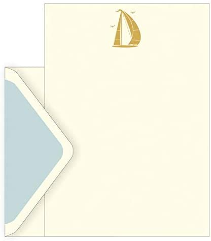 El arte archivo caja diseño de barco diseño Set de 10 sobres, 10 ...