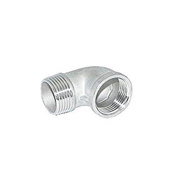 Amazon.com: Codo de acero inoxidable 316 90° clase 150 ...