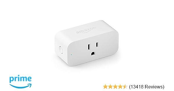 Amazon Smart Plug   works with Amazon Alexa - Amazon com