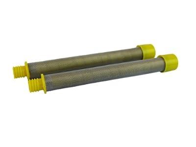 Titan 500-200-10 LX80, LX80II, LX75 Airless Spray Gun Filter 100 mesh 2 pack