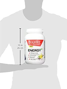 Amazon.com: Boomer Nutrition Whey Protein and Energy Powder Designed for 40 Plus Adults, Vanilla, 2 Pound: Health & Personal Care
