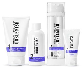 Rodan and Fields Unblemish Regimen for Acne and Post Acne Marks, Kit by Rodan + Fields