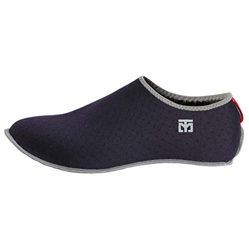 Mooto Korea Taekwondo MarShoes TKD MMA Martial Arts Gym Academy School Socks Type Mar Shoes Red and Navy (Navy, 3. S(220~235 mm or 8.66~9.25 inch))