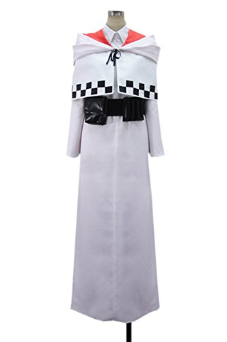 Jin Male Costumes (Dreamcosplay Anime Mondaiji Jin rasseru Uniform Outfits Cosplay Costume)