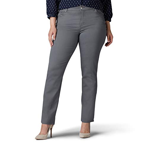 Lee Women's Relaxed Fit Straight Leg Jean Pants