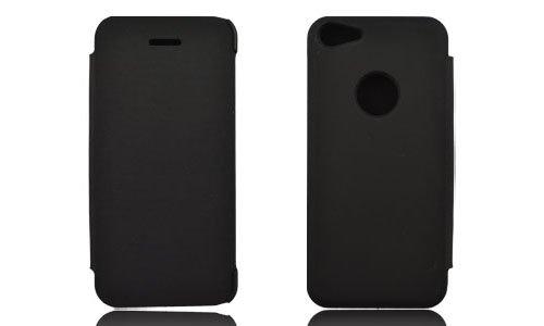 Flip Tasche Schutz Hülle Cover Case f. Apple iPhone 5c Schutzhülle schwarz
