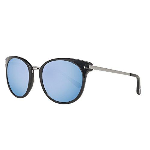 Guess Women's GU7318-BLK-9F Sunglasses, Black/Blue Grey - Guess Glasses