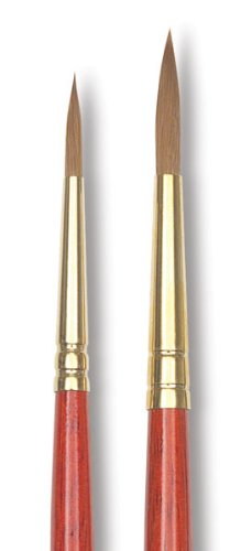 Winsor and Newton Sceptre Gold II Brush Designers Round-Short Handle 3