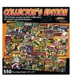 Channel Craft Collector's Edition Comic Book Covers Jigsaw Puzzle
